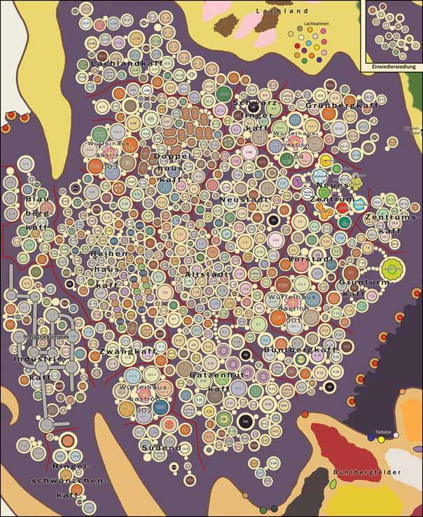 Stadtplan ganz